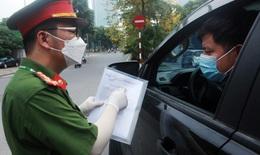 Người Hà Nội chỉ cần giấy đi đường, CCCD khi lưu thông qua chốt kiểm soát