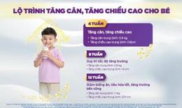 Calokid Gold giúp trẻ tăng chiều cao và cân nặng sau 4 tuần