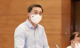Thứ trưởng Trần Văn Thuấn nghẹn ngào khi nhắc đến các thầy thuốc chống dịch từ Bắc chí Nam