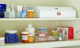 Tủ thuốc cho trẻ nên có trong nhà giữa mùa dịch