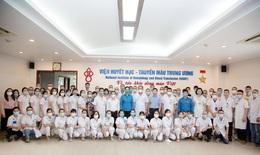 60 cán bộ y tế Viện Huyết học – Truyền máu Trung ương lên đường chi viện TP.HCM