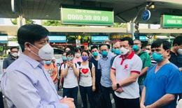 Bộ trưởng Nguyễn Thanh Long: Chúng ta nỗ lực, chung sức để bảo vệ sức khoẻ của bệnh nhân COVID-19