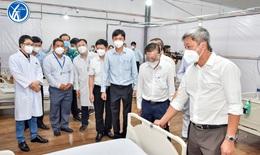Bệnh viện dã chiến điều trị bệnh nhân COVID-19 đa tầng đầu tiên ở TP.HCM