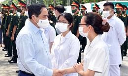 Thủ tướng Phạm Minh Chính gửi thư khen lực lượng tuyến đầu chống dịch COVID-19