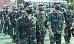 """Quân đội, công an """"Nam tiến"""" hỗ trợ TP.HCM chống dịch COVID-19"""