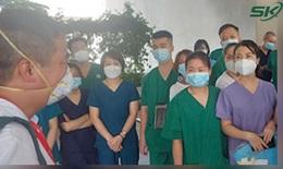 Trung tâm y tế Bàu Bàng, Bình Dương dốc tâm lực hạn chế bệnh nhân COVID-19 trở nặng