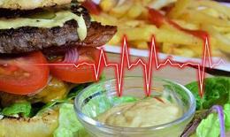 Ăn nhiều chất béo sẽ thúc đẩy sự phát triển vi khuẩn có hại trong ruột, tăng nguy cơ mắc bệnh tim