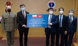 Đại sứ Ba Lan bàn giao cho Bộ Y tế hơn 500.000 liều vaccine COVID-19 AstraZeneca