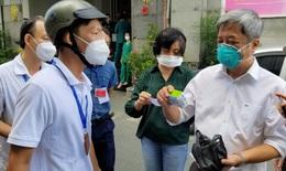 Triển khai chăm sóc, điều trị F0 sau tự xét nghiệm ở Quận Tân Phú, TP.HCM