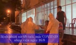Hồi sinh sự sống cho bệnh nhân COVID-19 giữa tâm dịch Sài Gòn trong đêm mưa