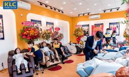 Ghế massage chính hãng KLC: Phục vụ tận tâm, làm những điều hạnh phúc cho khách hàng