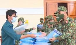 """Quân đội hỗ trợ Nha Trang kiểm soát chặt các xã, phường có nhiều """"vùng đỏ"""""""