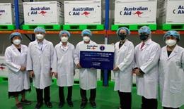 Bộ Y tế tiếp nhận 403.000 liều vaccine COVID-19 từ Chính phủ Australia
