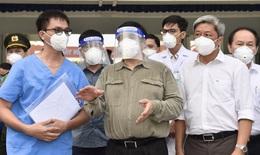 Thủ tướng Phạm Minh Chính kiểm tra, chỉ đạo, động viên công tác chống dịch tại Bình Dương