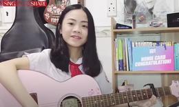 Ca sĩ nhí Trâm Anh: F0 tiêm 'vaccine tinh thần' cho cộng đồng