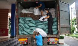 Gạo, tép khô, nước mắm… từ quê lúa Thái Bình vào tâm dịch TP.HCM