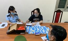 Hà Nội: Tạm giữ hơn 50 hộp thuốc kháng virus không có giấy tờ hợp lệ