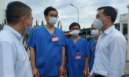 GS.TS Trần Văn Thuấn, Thứ trưởng Bộ Y tế: Chúng tôi cảm kích tinh thần tình nguyện của thầy thuốc vào tâm dịch