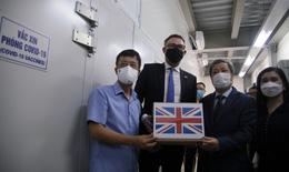Tiếp nhận 415.000 liều vaccine AstraZeneca từ Chính phủ Anh tặng