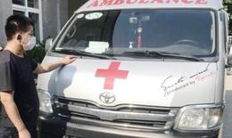 Phạt 35 triệu đồng tài xế xe cứu thương chở người thông chốt vào Hà Nội