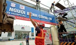 Bệnh viện điều trị COVID-19 quy mô 500 giường tại Hà Nội đi vào hoạt động