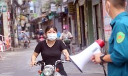 """Hình ảnh mới nhất về """"điểm nóng"""" COVID-19 tại phường Giáp Bát, Hà Nội"""
