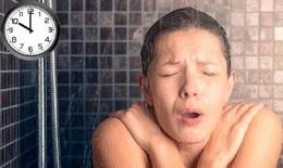 Nếu hay tắm muộn, một ngày nào đó có thể bạn sẽ như bệnh nhân dưới đây