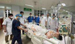 3 thầy thuốc ở Nghệ An bị tai nạn giao thông trên đường đi công tác đã qua cơn nguy kịch