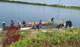 Nhóm người đánh bắt cá chui ở Hà Nội bị truy phạt 27 triệu đồng