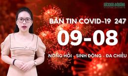 Bản tin COVID-19 24/7: 215.560 ca nhiễm COVID-19, hơn 9.000 ca xuất viện tại TP Hồ Chí Minh