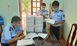 Thu giữ 1.000 bộ kit test nhanh COVID-19 có dấu hiệu nhập lậu