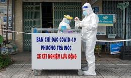 Tự chế xe lấy mẫu xét nghiệm lưu động, người dân Cần Thơ mừng rỡ khi loa gọi ra cửa nhà làm test COVID-19