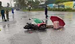 Hà Nội: Thương tâm 2 người đi xe máy bị sét đánh tử vong