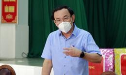 Bí thư Nguyễn Văn Nên mong các thầy thuốc thông cảm với những thiếu sót của TP.HCM