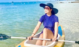 'Lạc trôi' trên đảo gần 3 tháng vì COVID-19, Thúy Hạnh muốn... chèo thuyền về nhà
