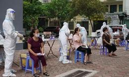 """Cận cảnh: Ngày Quốc khánh  ở """"vùng xanh"""" trong quận Thanh Xuân"""