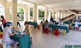 Bệnh viện CT-CH Nghệ An triển khai tiêm chủng an toàn cho người dân
