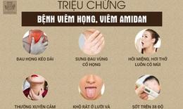 Viêm họng giao mùa nên làm gì để dứt bệnh?