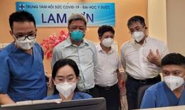 Thứ trưởng Bộ Y tế: Ngành y vẫn sẽ nặng gánh sau khi TP.HCM hết giãn cách