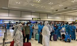 Phát hiện 4 ca dương tính trên chuyến bay đón công dân từ TP HCM về Bắc Giang