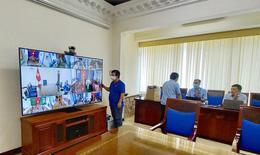 Thần tốc triển khai Trung tâm chỉ huy và hệ thống họp trực tuyến để Thủ tướng chỉ đạo chống dịch