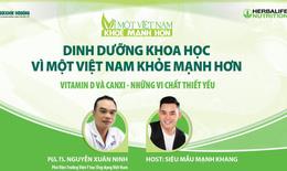 Vitamin D và Canxi - Những vi chất thiết yếu