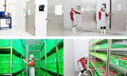 Công ty thực phẩm Thanh Nga phục hồi hoạt động cung ứng thực phẩm trên địa bàn Hà Nội