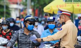 Từ sáng 8/9, người ra vào vùng 1 ở Hà Nội bắt buộc phải có giấy đi đường mới