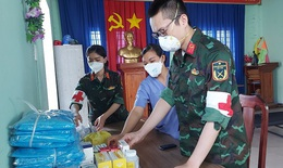 Trạm y tế lưu động - thiết thực với người dân vùng  dịch