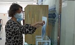Cử tri Nga tại Khánh Hòa đi bỏ phiếu bầu đại biểu Duma quốc gia Nga