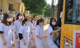 Hàng nghìn nhân viên y tế 11 tỉnh, thành phố gấp rút chi viện để xét nghiệm, tiêm vaccine cho Thủ đô