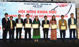 Hội nghị khoa học ngành Tai Mũi Họng Nghệ An
