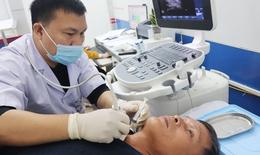Bệnh viện tuyến huyện Hà Tĩnh triển khai thành công chọc hút tế bào bằng kim nhỏ