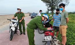 Nghệ An: Nhiều trường hợp vi phạm phòng, chống dịch bị xử phạt